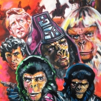 Apes art for Infinity